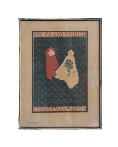 "Chromo-lithographie ""inland printer"" de 1899"